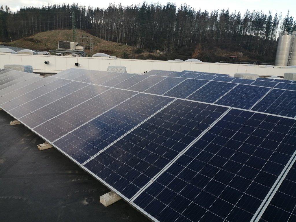 Nueva Instalación Fotovoltaica de Autoconsumo de 100kw en la Cooperativa Eika 1