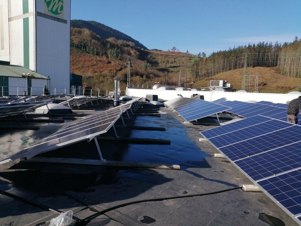 Nueva Instalación Fotovoltaica de Autoconsumo de 100kw en la Cooperativa Eika 3