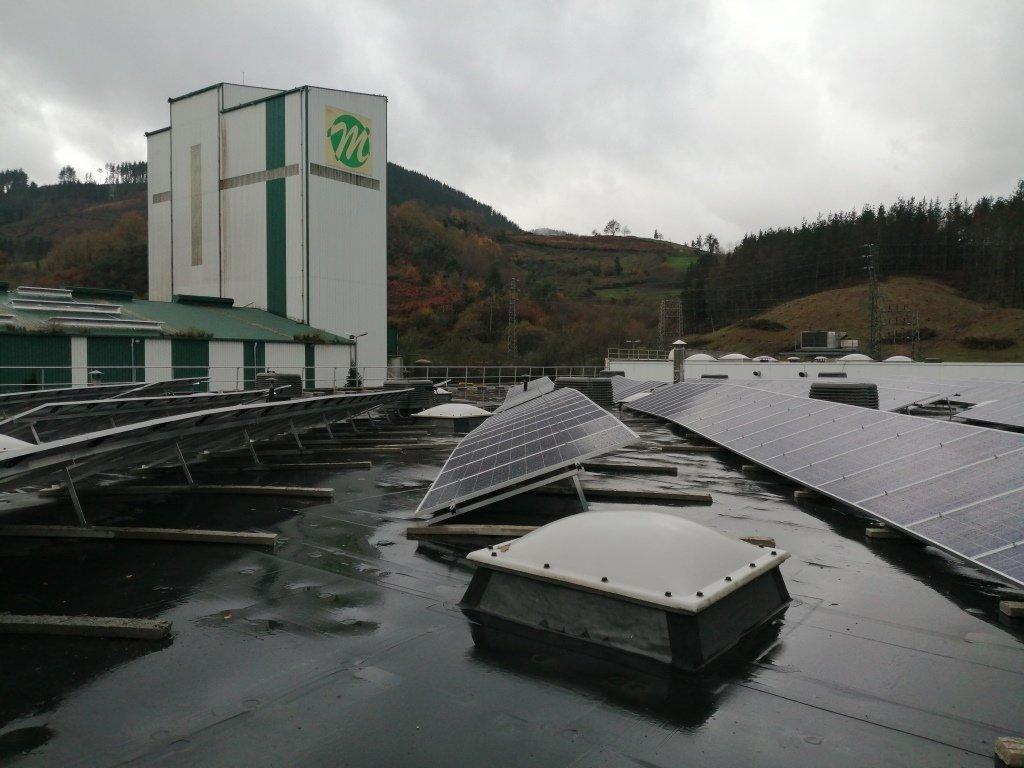 Nueva Instalación Fotovoltaica de Autoconsumo de 100kw en la Cooperativa Eika 5