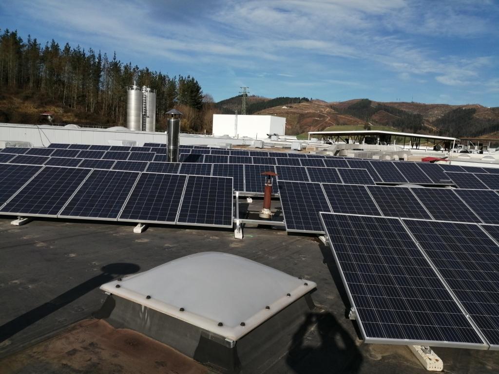 Nueva Instalación Fotovoltaica de Autoconsumo de 100kw en la Cooperativa Eika