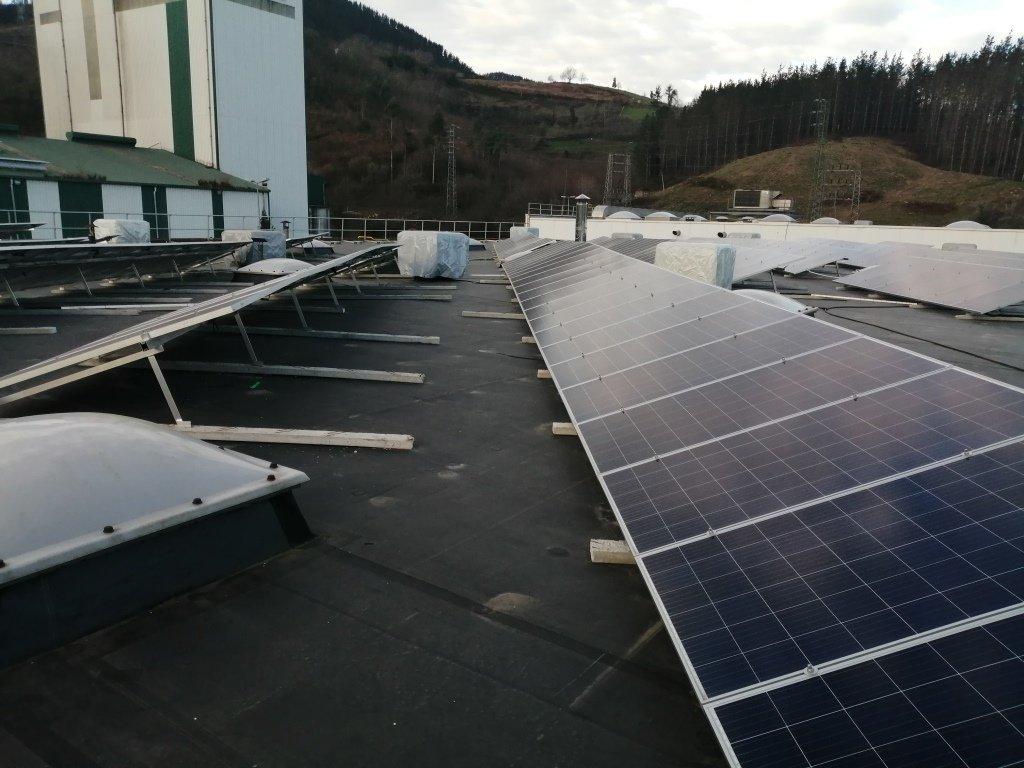 Nueva Instalación Fotovoltaica de Autoconsumo de 100kw en la Cooperativa Eika 9