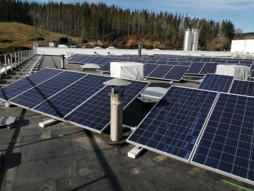 Nueva Instalación Fotovoltaica de Autoconsumo de 100kw en la Cooperativa Eika 10