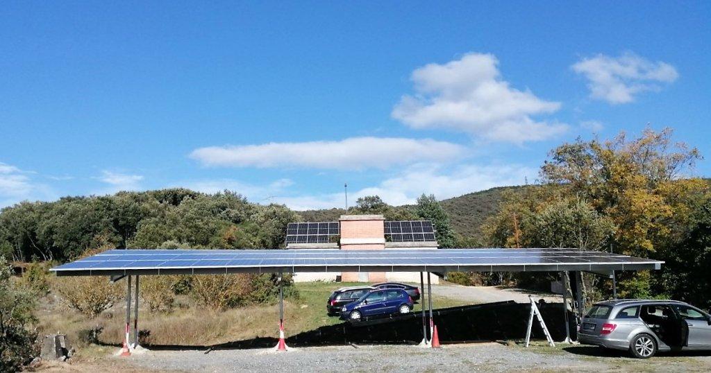 LASIERRA, Álava. Primera Comunidad Solar de Euskadi. 2